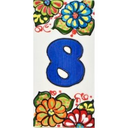LETTERS AND NUMBERS TILE  A41302.8