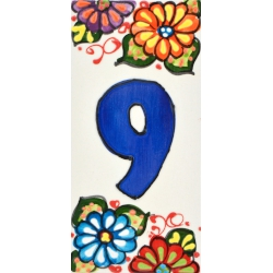 LETTERS AND NUMBERS TILE  41302.9