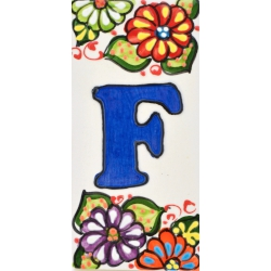 LETTERS AND NUMBERS TILE  A41302.F