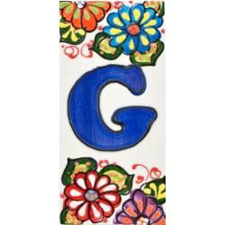 LETTERS AND NUMBERS TILE  A41302.G