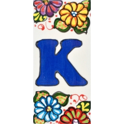 LETTERS AND NUMBERS TILE  41302.K
