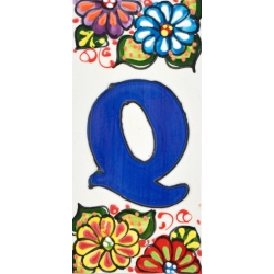 LETTERS AND NUMBERS TILE  41302.Q
