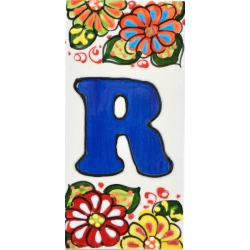LETTERS AND NUMBERS TILE  41302.R