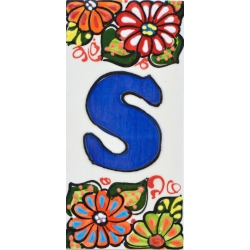 LETTERS AND NUMBERS TILE  41302.S