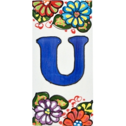 LETTERS AND NUMBERS TILE  41302.U