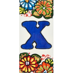 LETTERS AND NUMBERS TILE  A41302.X
