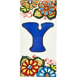 LETTERS AND NUMBERS TILE  A41302.Y