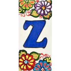 LETTERS AND NUMBERS TILE  A41302.Z