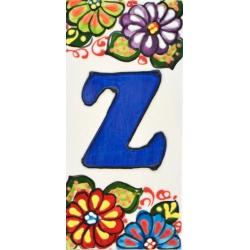 NUMEROS Y LETRAS AZULEJO  41302.Z