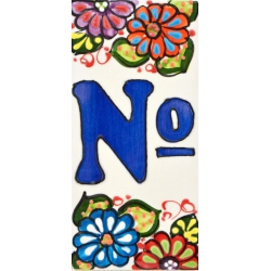 LETTERS AND NUMBERS TILE  A41303