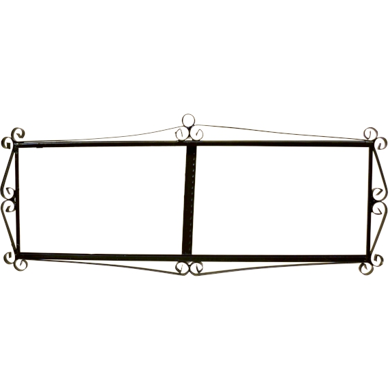 IRON FRAME FRAME LETTERS AND NUMBERS 46505