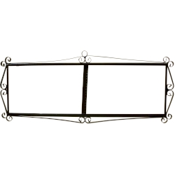 IRON FRAME FRAME LETTERS AND NUMBERS 46506
